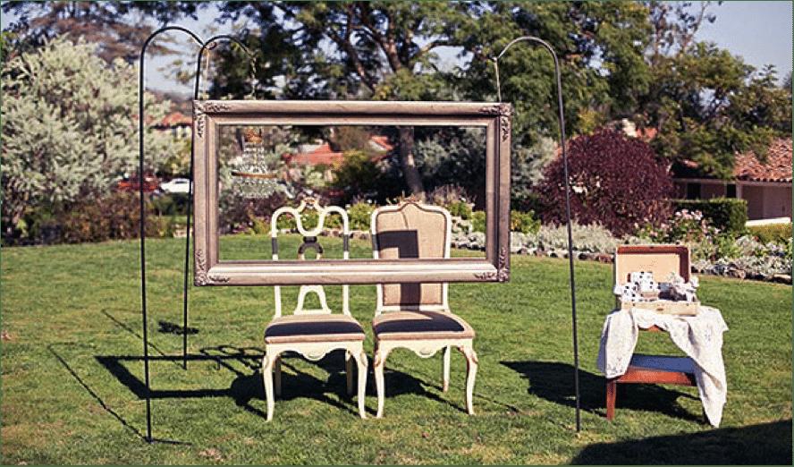Ideas para un photocall de boda sencillo - La Perfecta Prometida