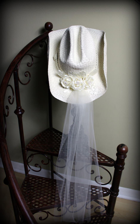 sombrero novia vaquera