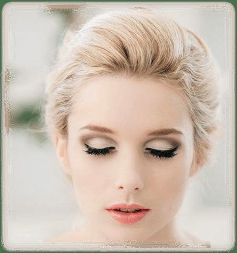 Maquillaje para boda de dia vestido rosa