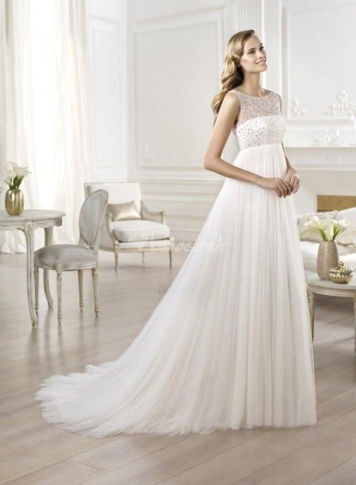 vestido novia ovalado