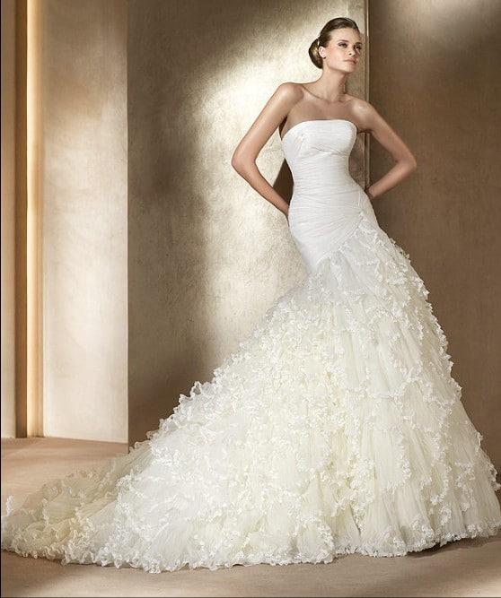 vestido de novia reloj arena