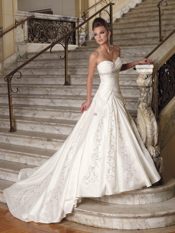vestido novia triangulo invertido