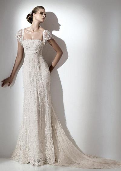vestido novia triangulo