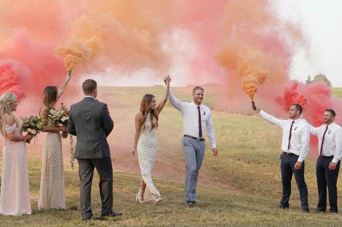 El Festival Holi, una boda llena de color - La Perfecta ...
