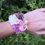 Tutorial: cómo hacer una pulsera de flores