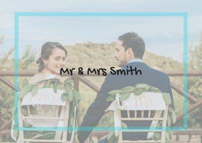 MR & MRS SMITH 11/01/19, 18/05/19