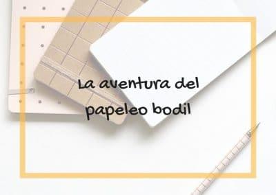 La aventura del papeleo bodil 06/10/18