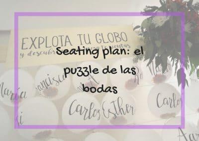 Seating plan: el puzle de las bodas 27/10/18, 08/03/19