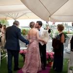 ¡Atrévete con el rosa en tu boda!
