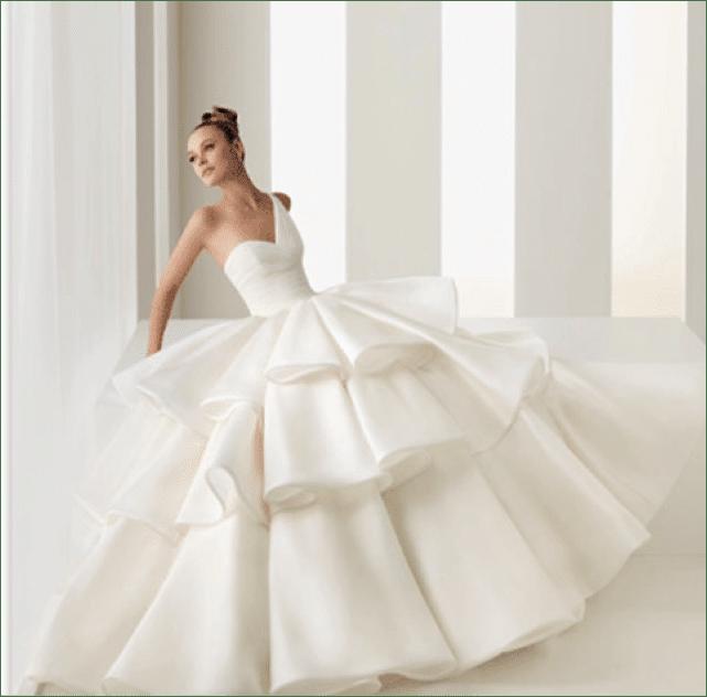 Imagenes de vestidos de novia anchos