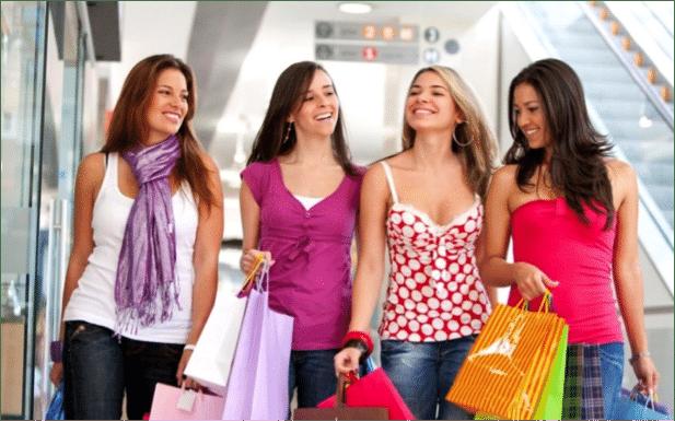 chicas compras