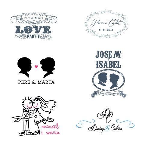 logotipo identidad boda
