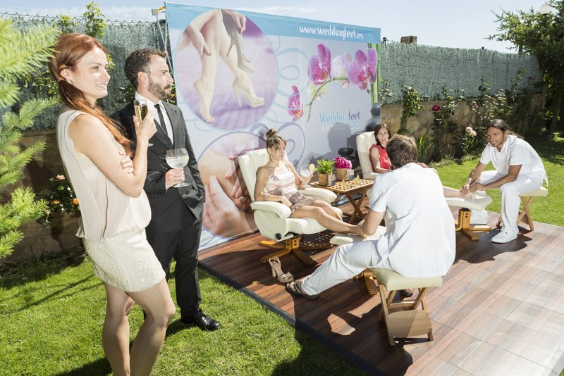 invitados masaje boda