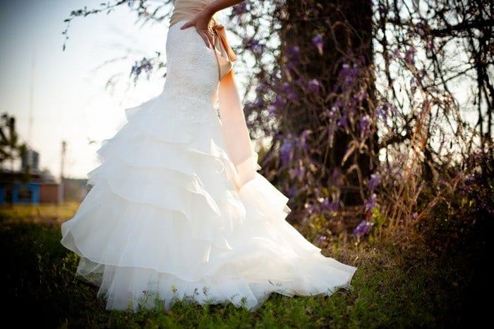 Vestido de novia primavera