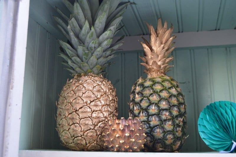 piñas inspiración tropical