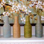 Decoraciones hechas con material reciclado