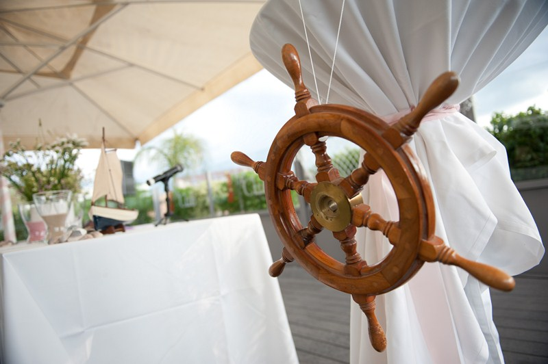 decoración boda marinera
